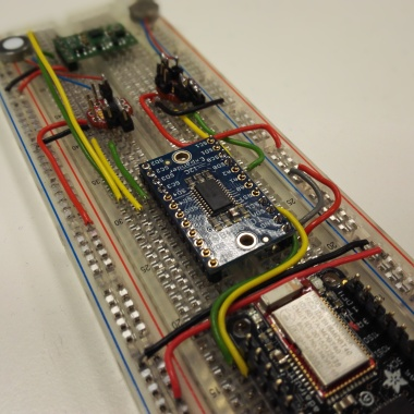 Prototyping the I2C circuit